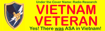 Army Security Agency Vietnam Veteran