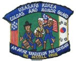ASA Korea Color Guard