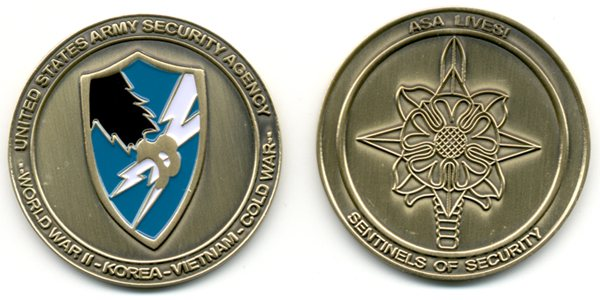 ASA CHALLENGE COIN ... Get YOURS TODAY!