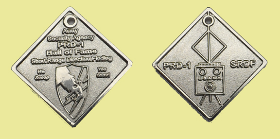 PRD1 Hall of Fame Coin